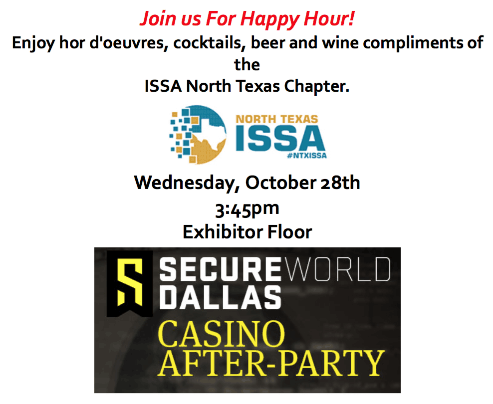 SecureWorld Casino Night